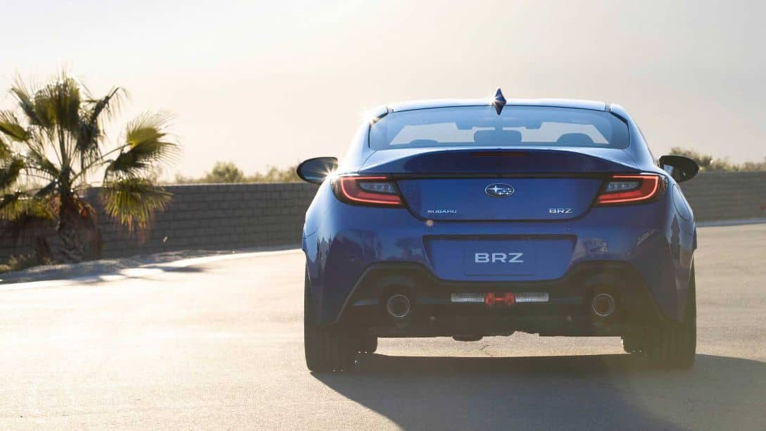 Subaru BRZ 2nd Gen Rear