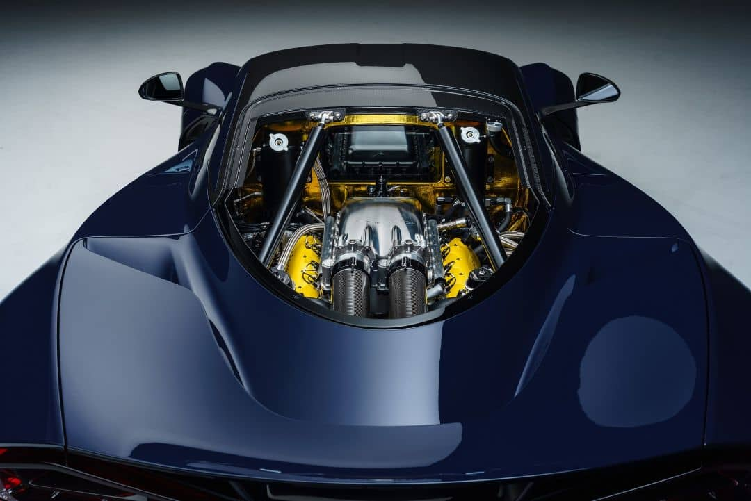 Hennessey Venom F5 Engine room