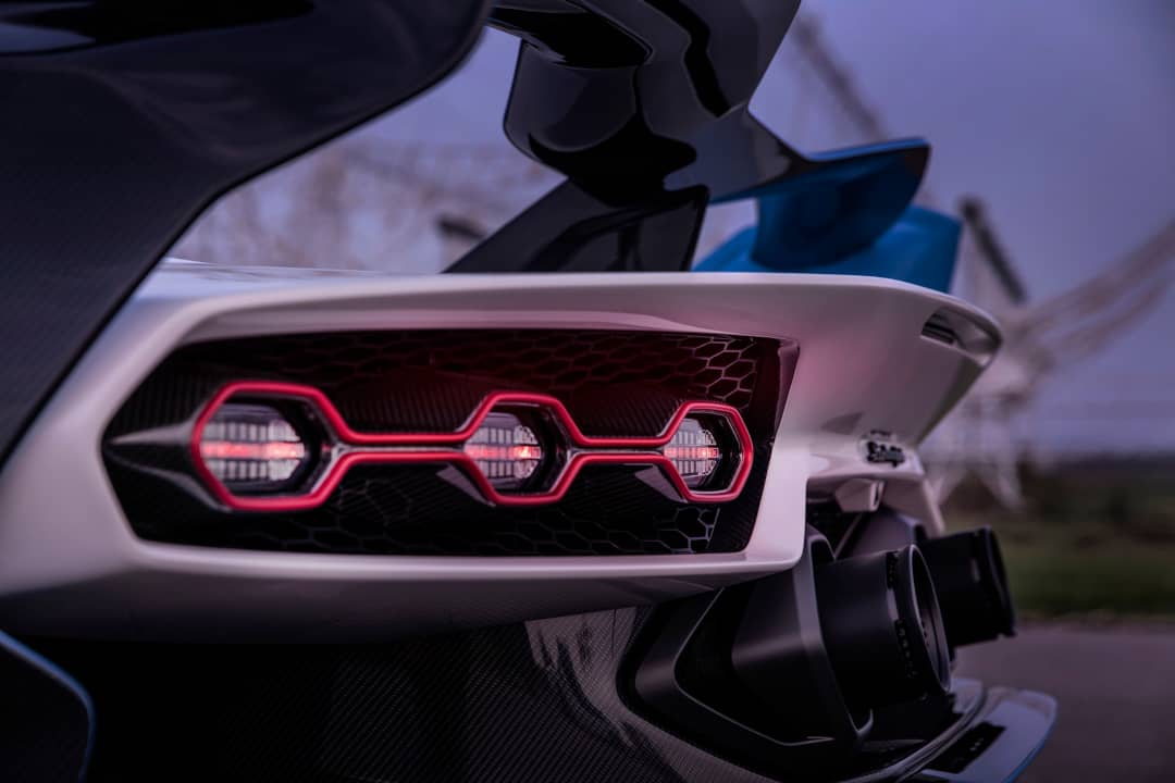 Lamborghini SC20 Tail light