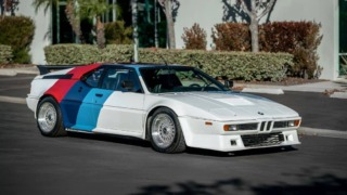 BMW M1 AHG Front three quarter
