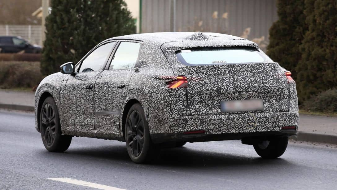 Citroen C5 Successor Spyshot Rear