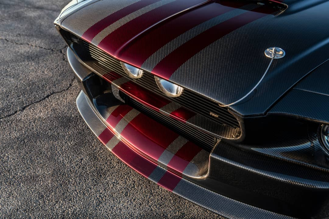 Classic Recreation Shelby GT500CR Carbon Nose