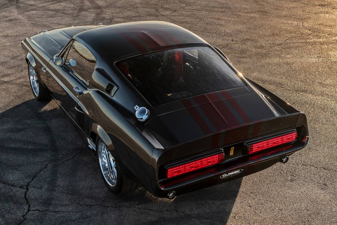 Classic Recreation Shelby GT500CR Carbon Rear top