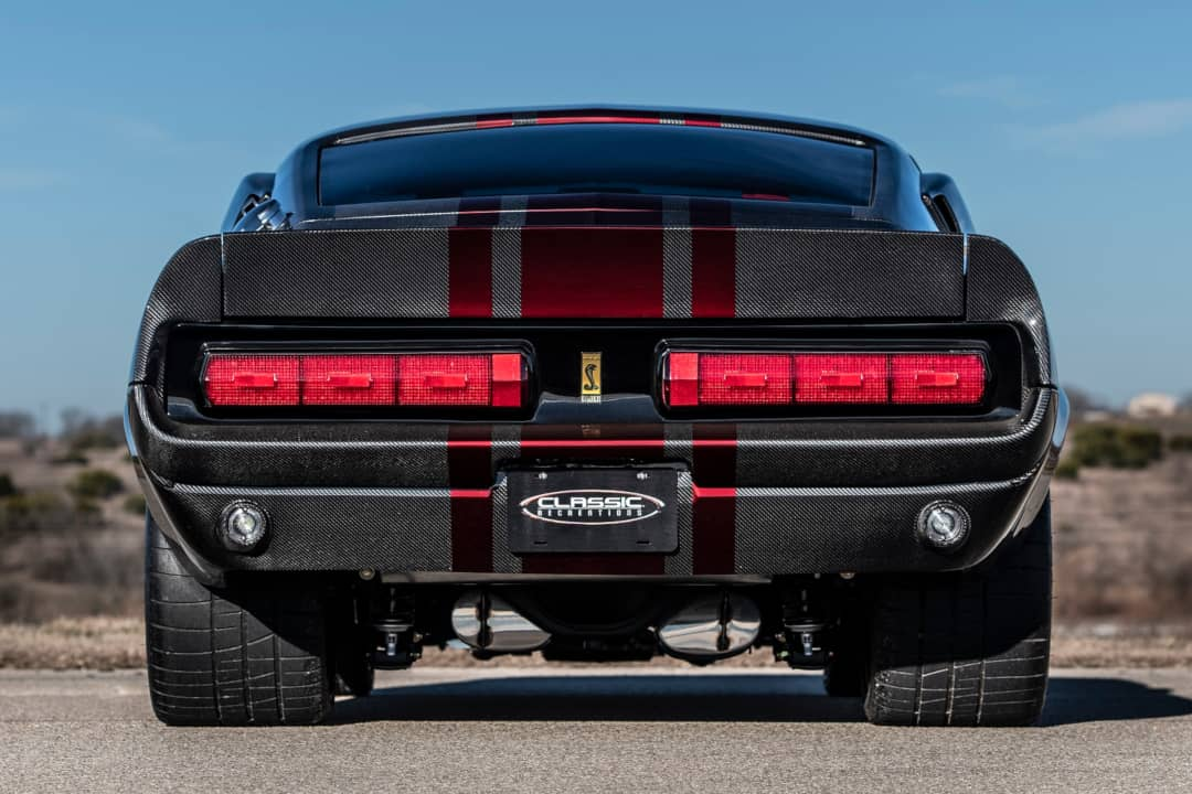 Classic Recreation Shelby GT500CR Carbon Rear