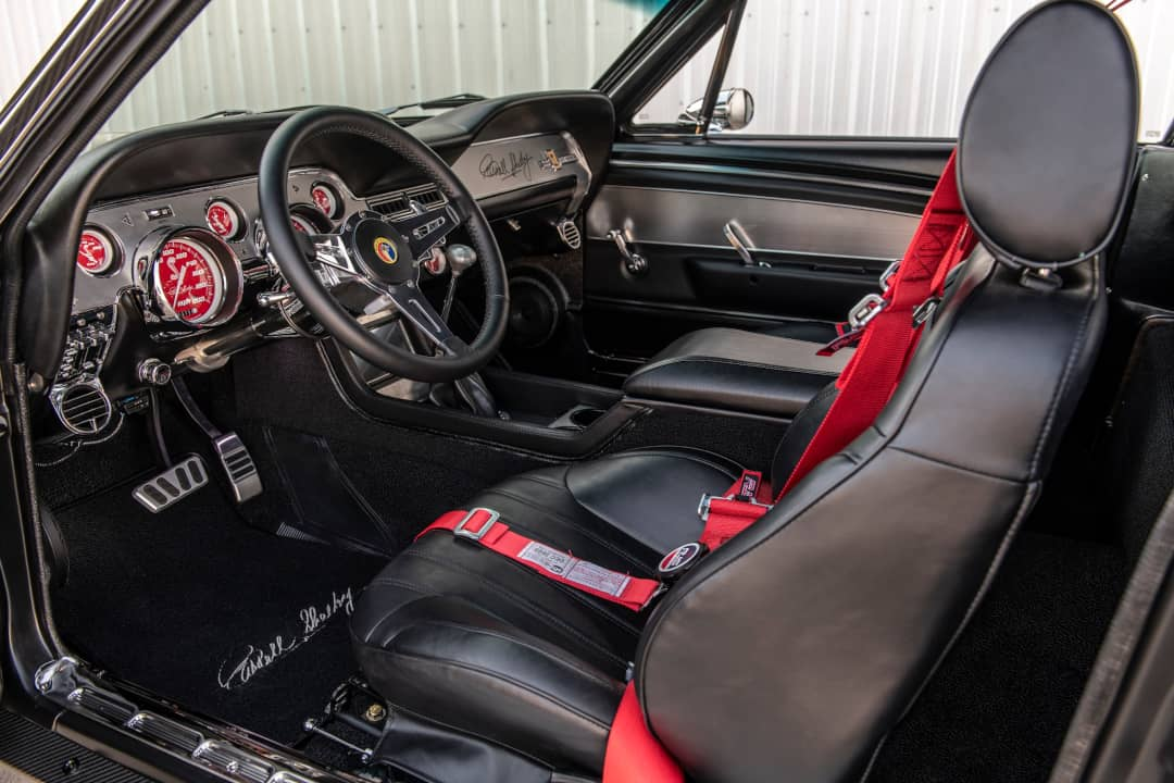 Classic Recreation Shelby GT500CR Carbon Interior