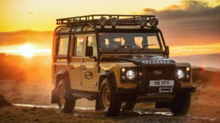 Land Rover Classic Defender Works V8 Trophy
