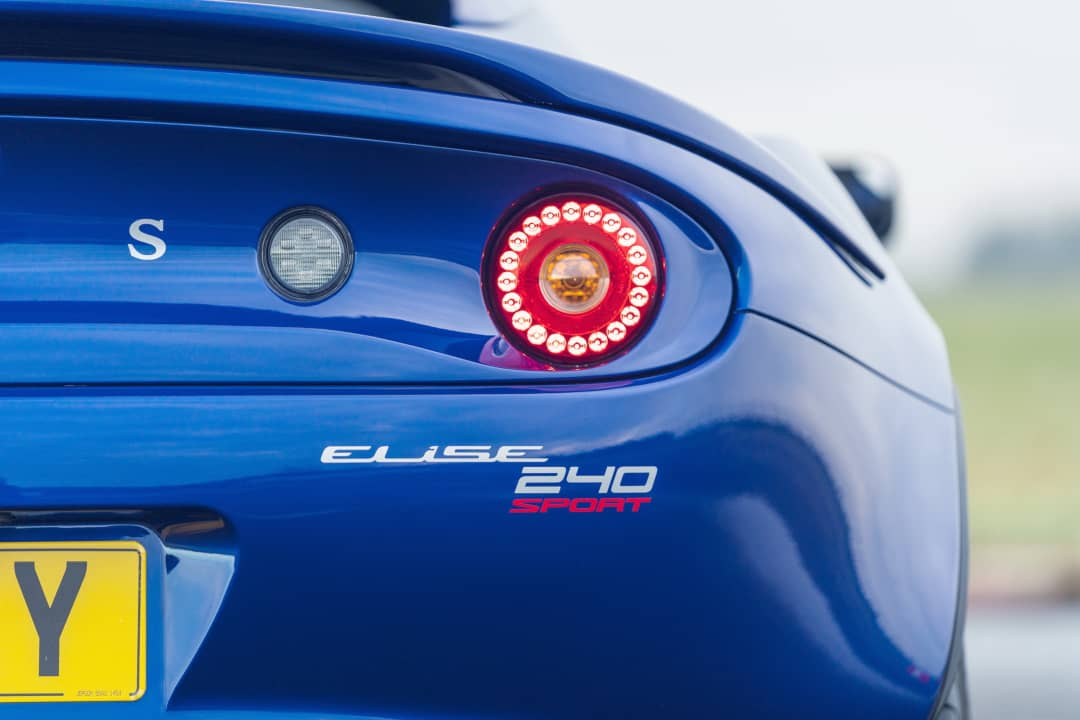Lotus Elise Sport 240 Final Edition Taillight