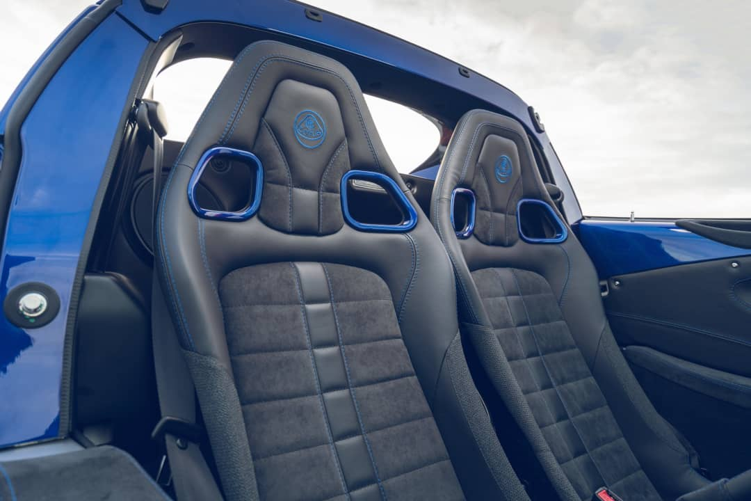 Lotus Elise Sport 240 Final Edition Seats