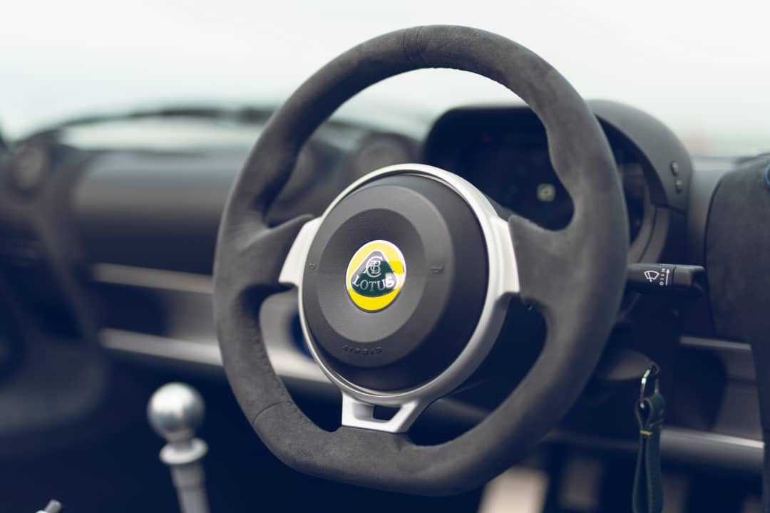 Lotus Elise Sport 240 Final Edition Steering