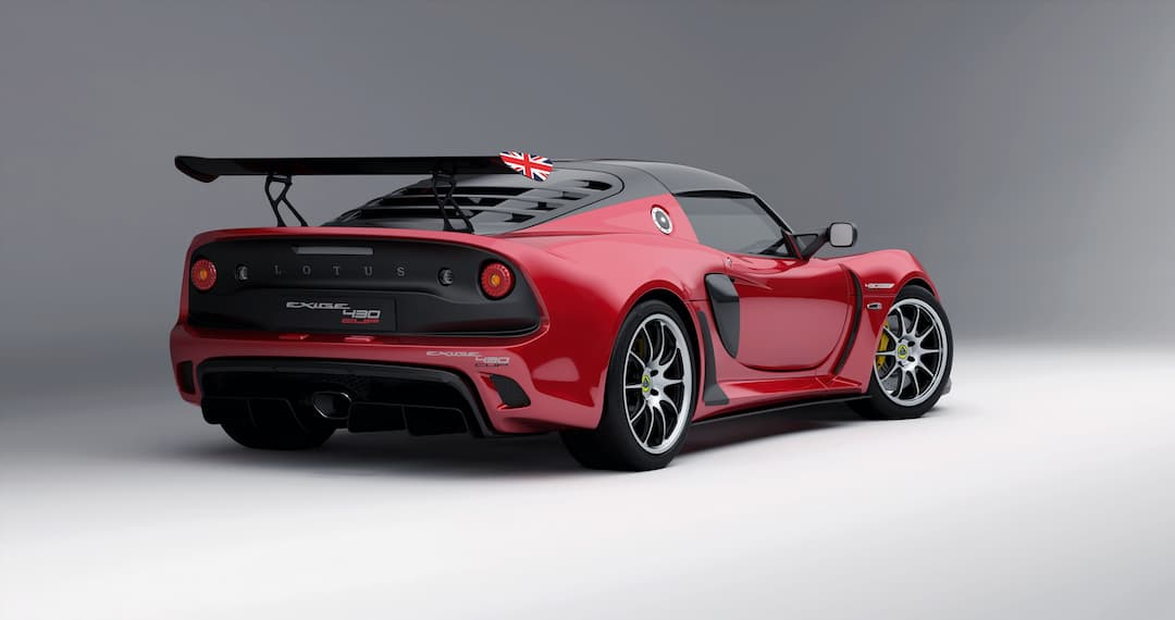 Lotus Exige 430 Cup Final Edition Rear