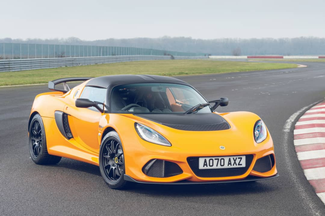 Lotus Exige Sport 390 Final Edition Front
