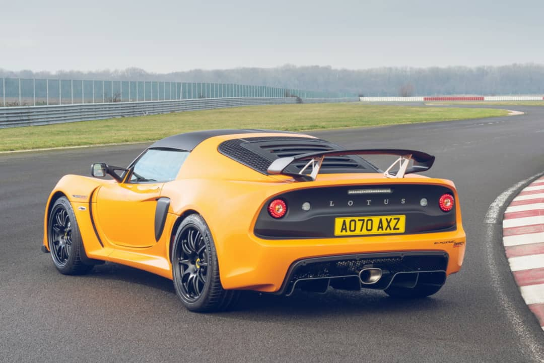 Lotus Exige Sport 390 Final Edition Rear