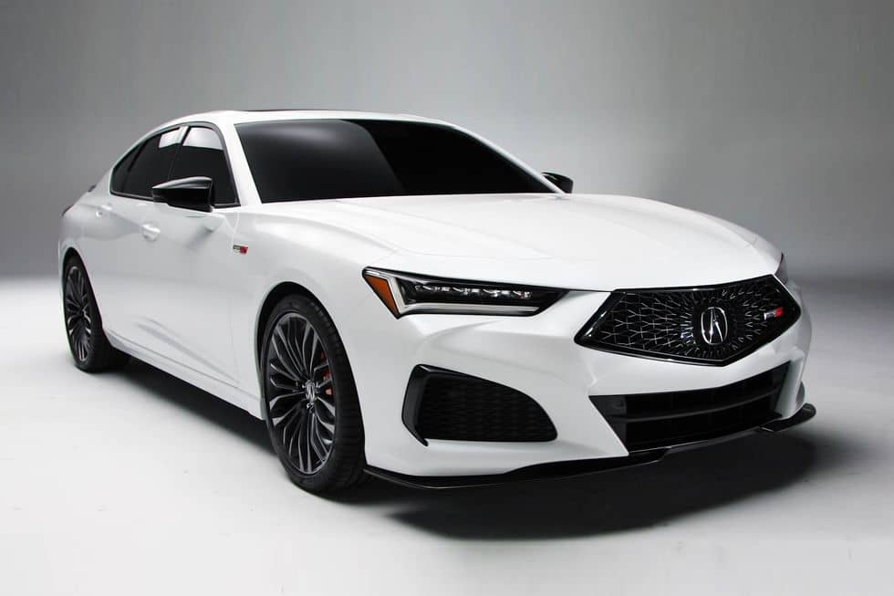 Acura TLX type S Front