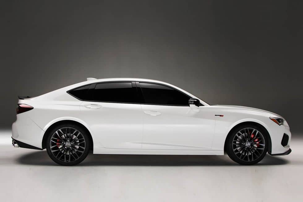 Acura TLX type S Side