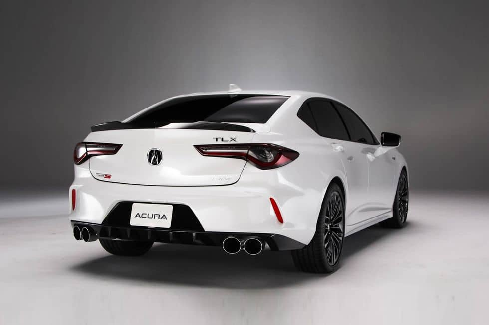 Acura TLX type S Rear