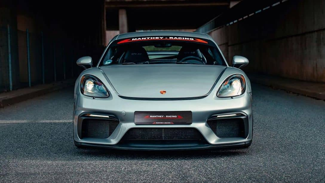 Manthey Racing Cayman GT4 MR Front