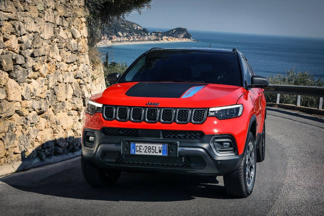 Jeep Compass 2021 Facelift Front