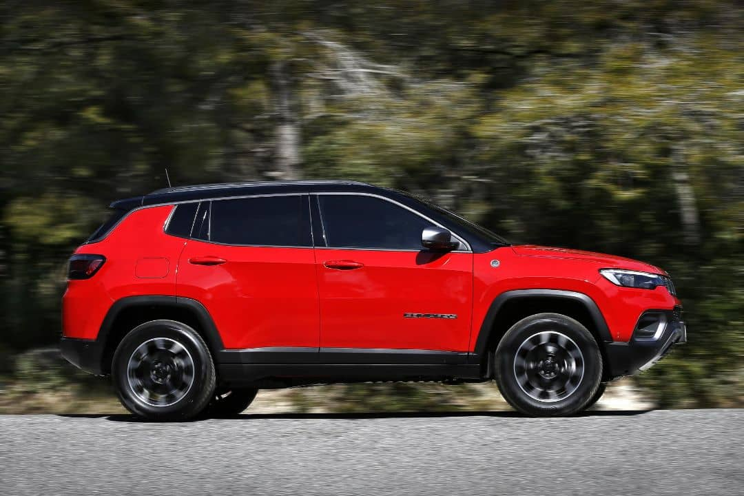 Jeep Compass 2021 Facelift Side
