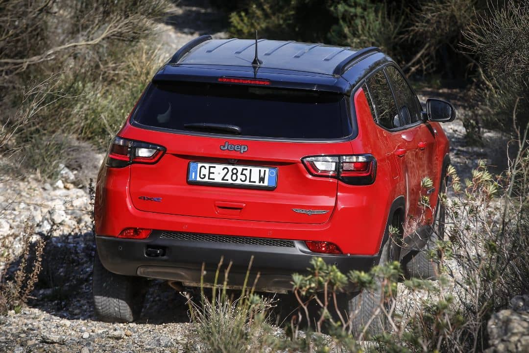 Jeep Compass 2021 Facelift Rear
