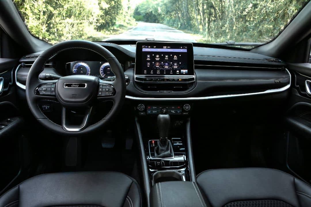 Jeep Compass 2021 Facelift Interior