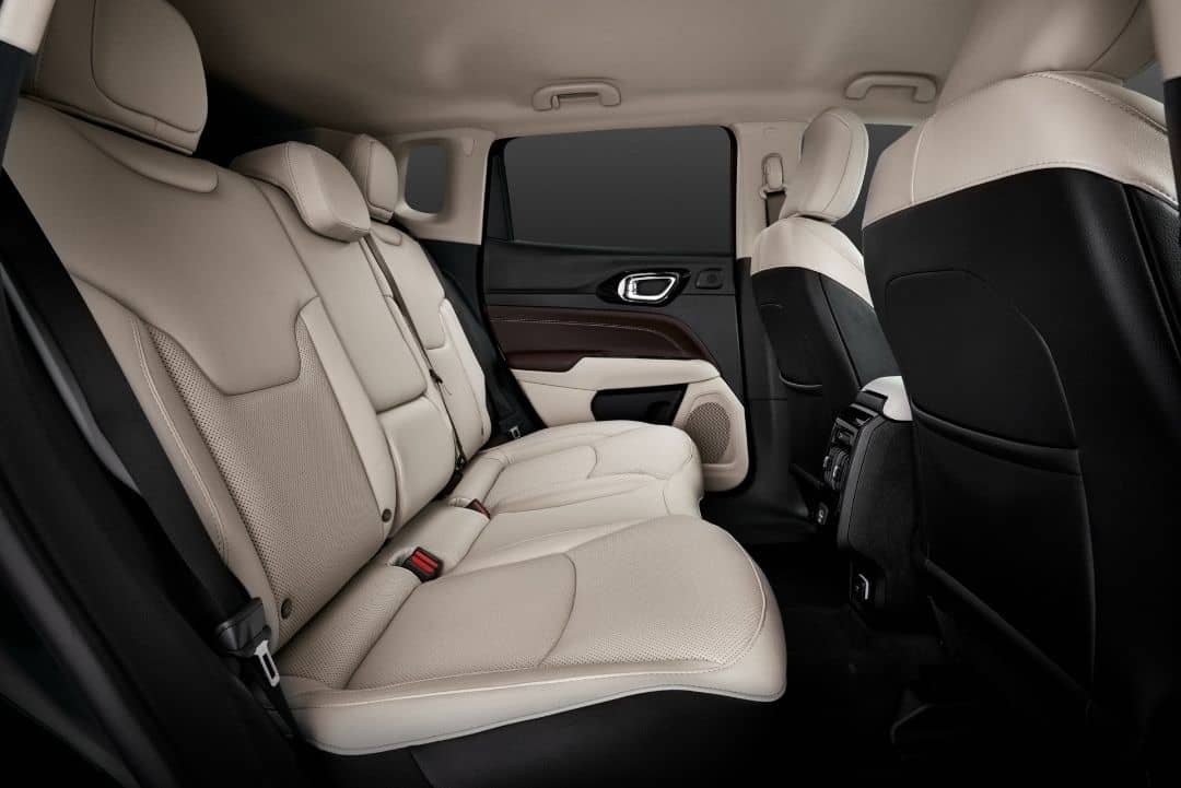 Jeep Compass 2021 Facelift Rear seats