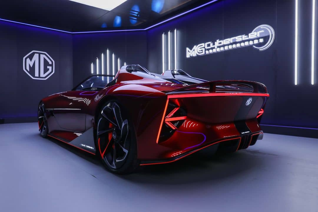 MG Cyberster Concept Rear
