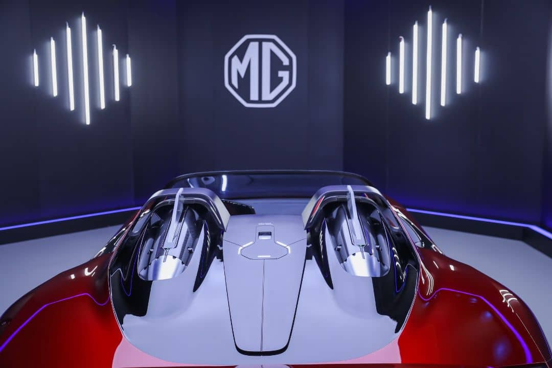 MG Cyberster Concept Rollbar