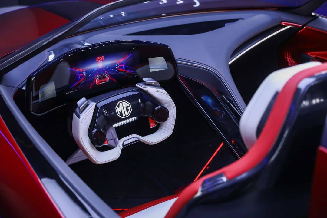 MG Cyberster Concept Cockpit
