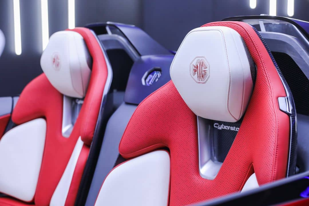 MG Cyberster Concept Seats