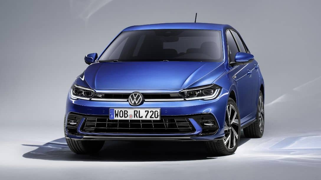 VW Polo 2021 Facelift Front