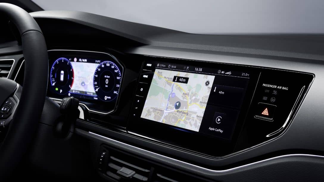 VW Polo 2021 Facelift Touch screen