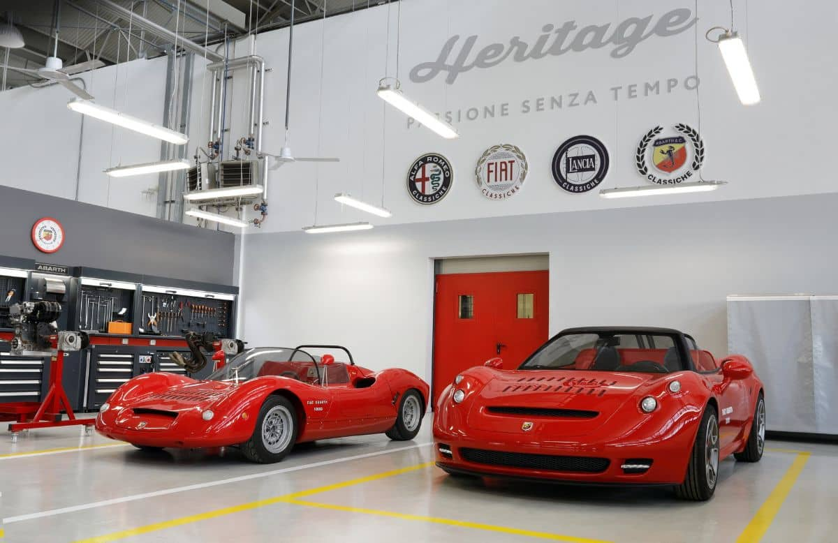 Abarth 1000 SP and 1000 SP One Off Front