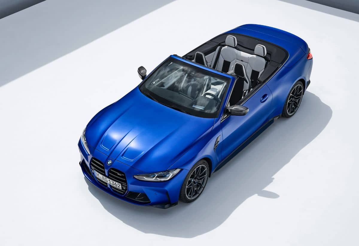 BMW M4 Competition Convertible Top