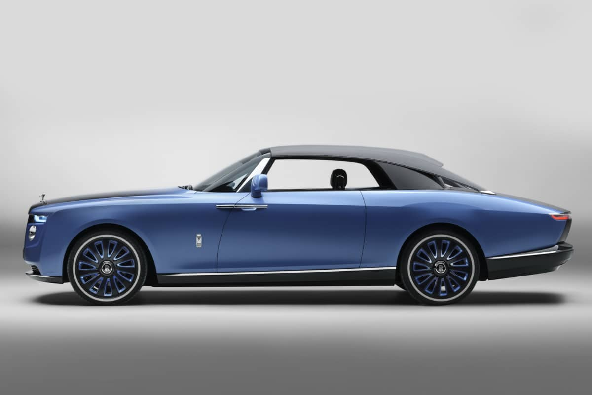 Rolls-Royce Boat Tail Side roof close