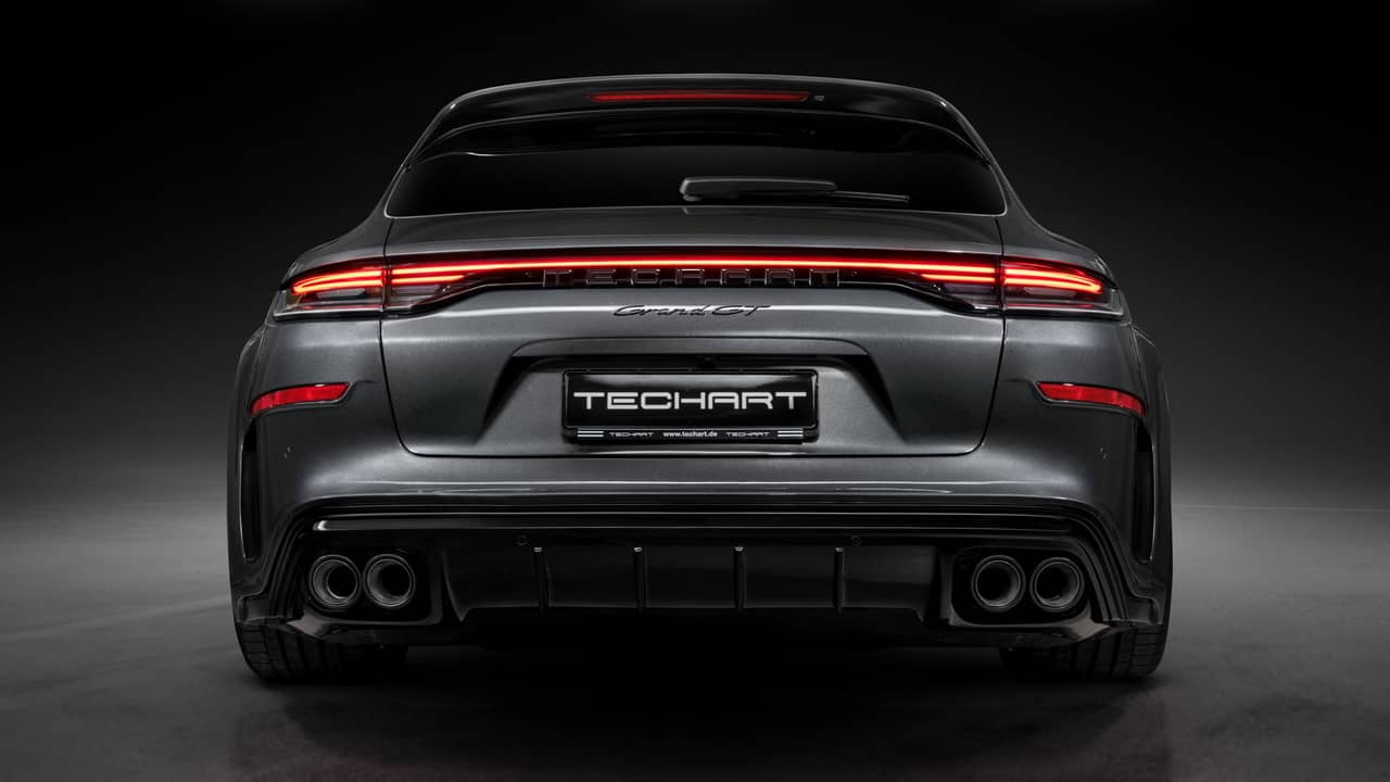 TechArt Grand GT Rear