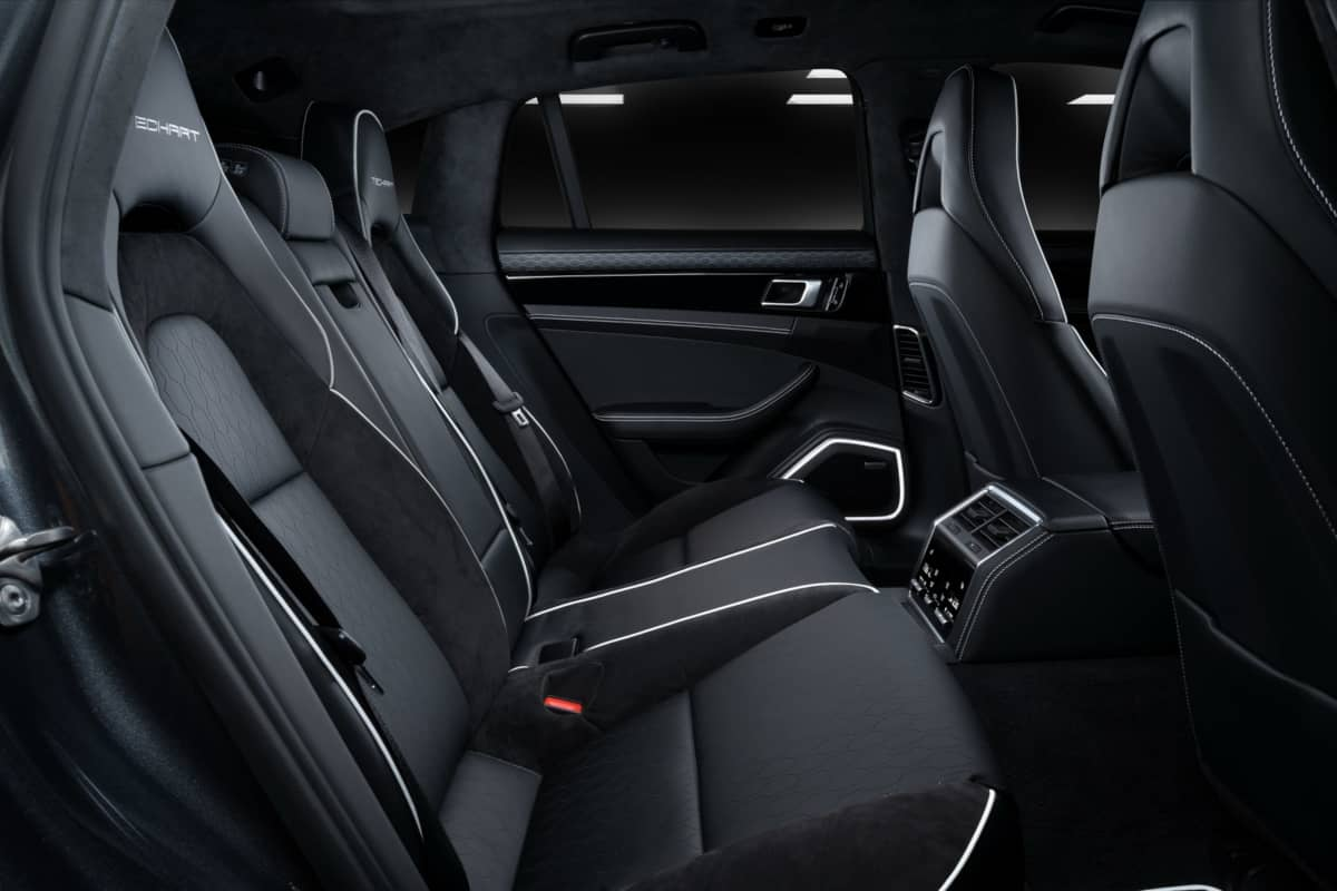 TechArt Grand GT Rear Seats