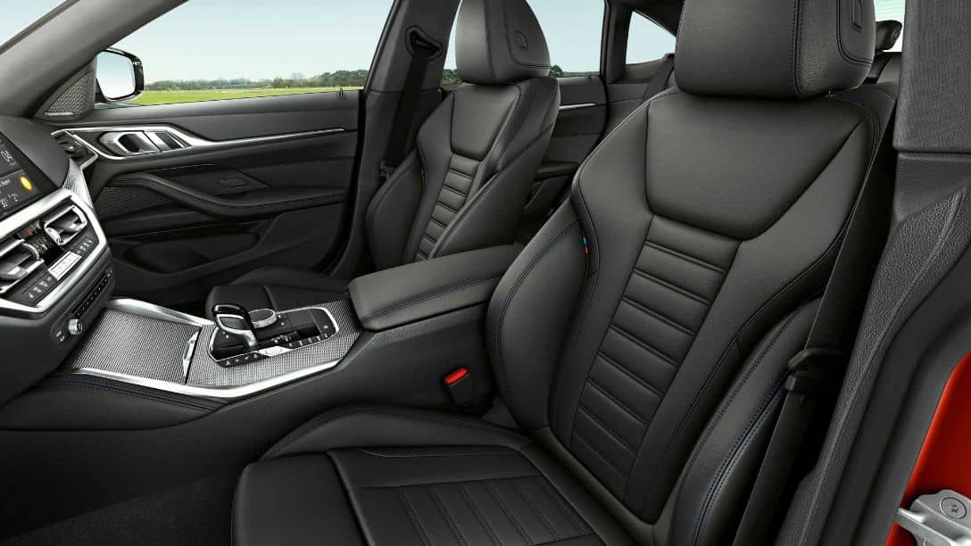 BMW 4 Series Gran Coupe 2nd Gen Front seats