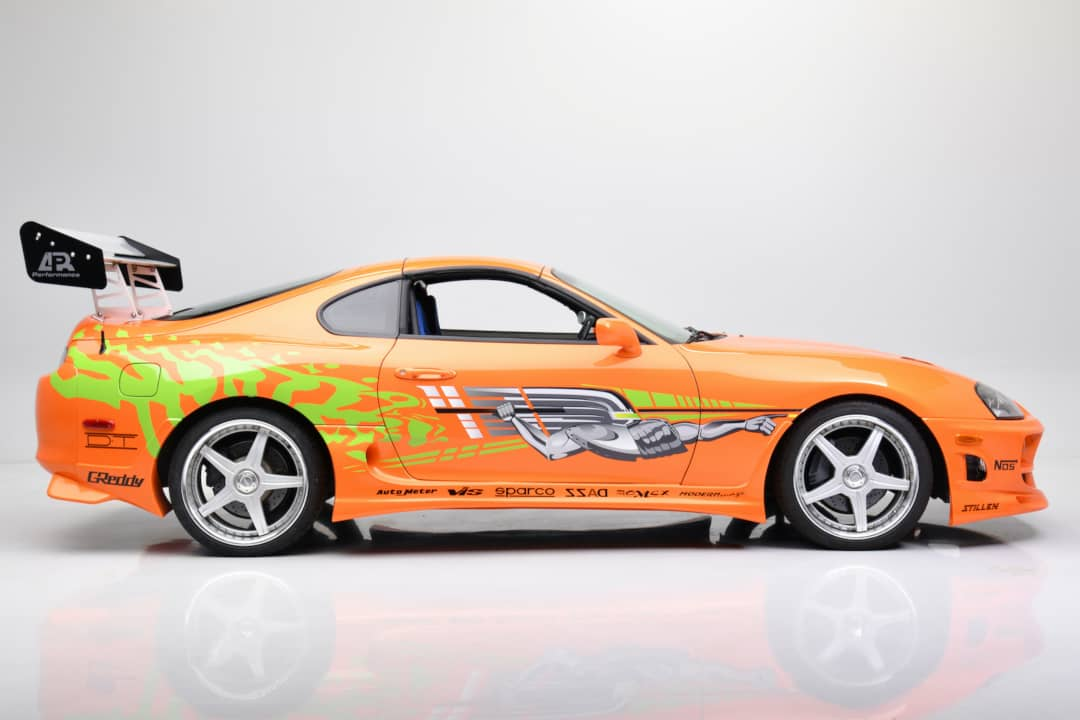 Fast and Furious Toyota Supra Side