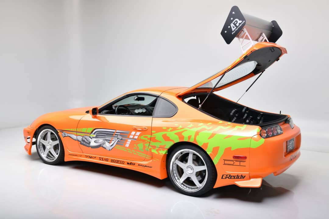 Fast and Furious Toyota Supra Tail gate