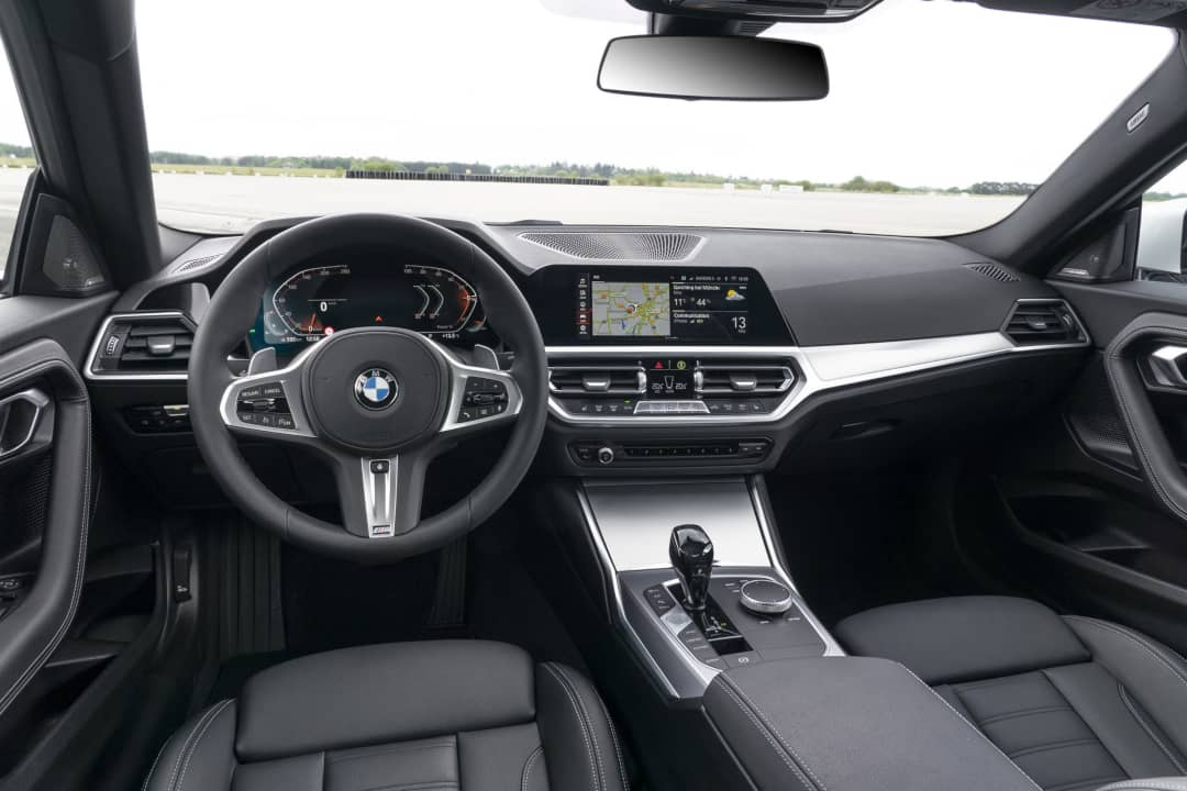 BMW 2 Series Coupe 2nd Gen Dashboard