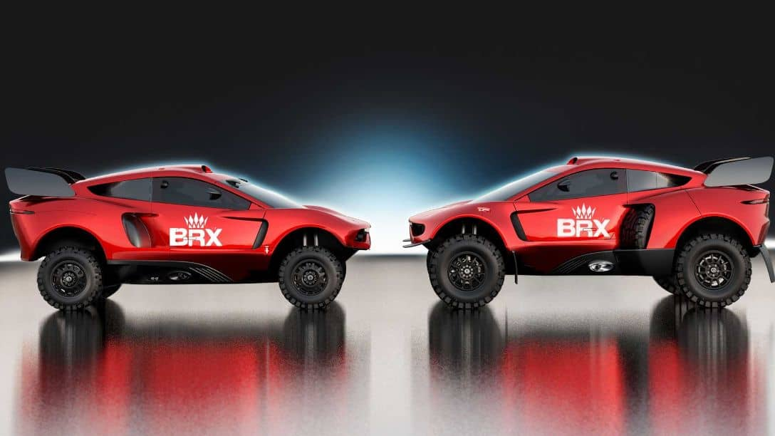 BRX Hunter T1 and T1+ Side