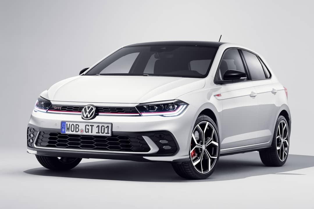VW Polo GTI Facelift 2021 Front