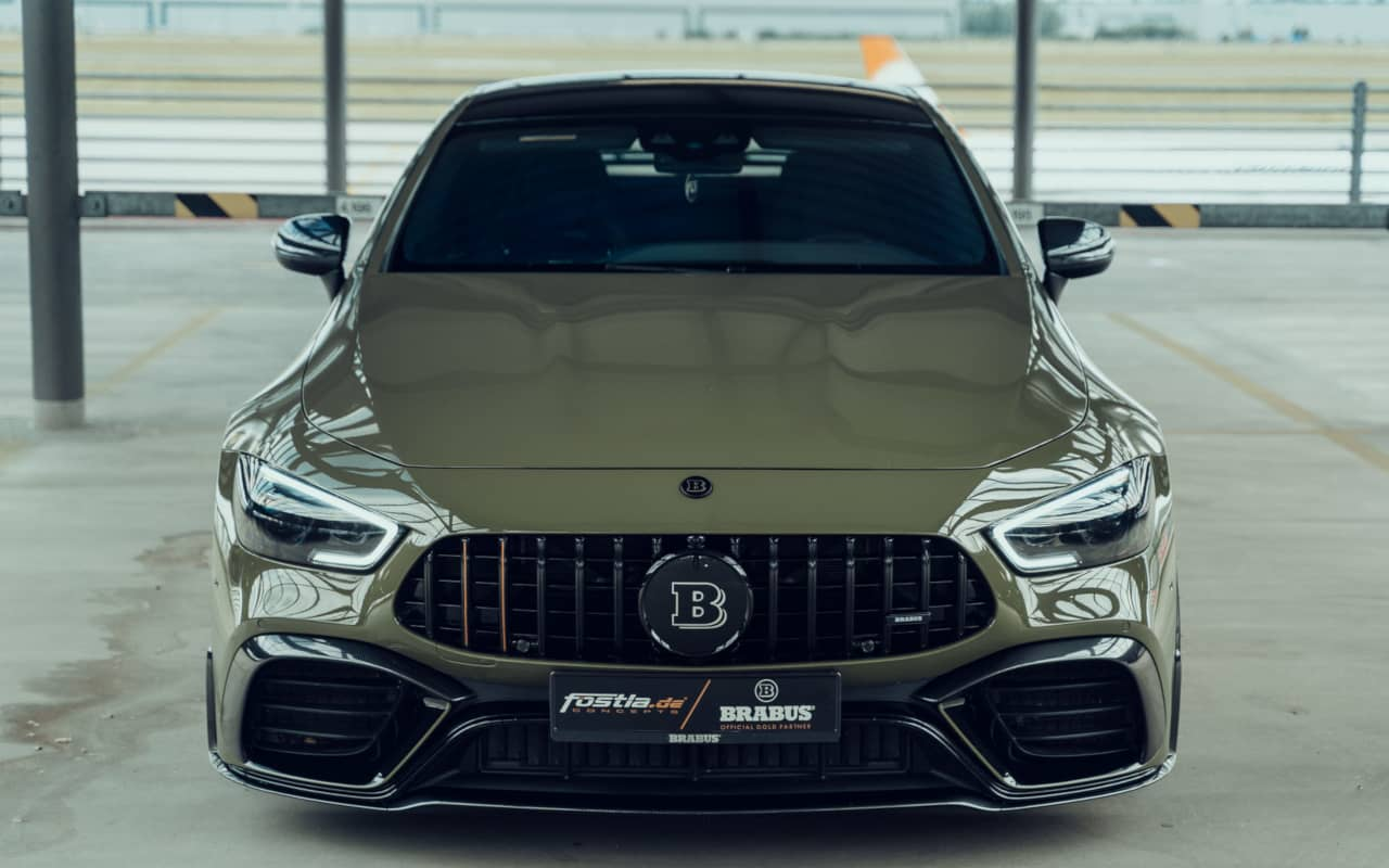 Brabus and Fostla AMG GT 63S 4door Coupe Front