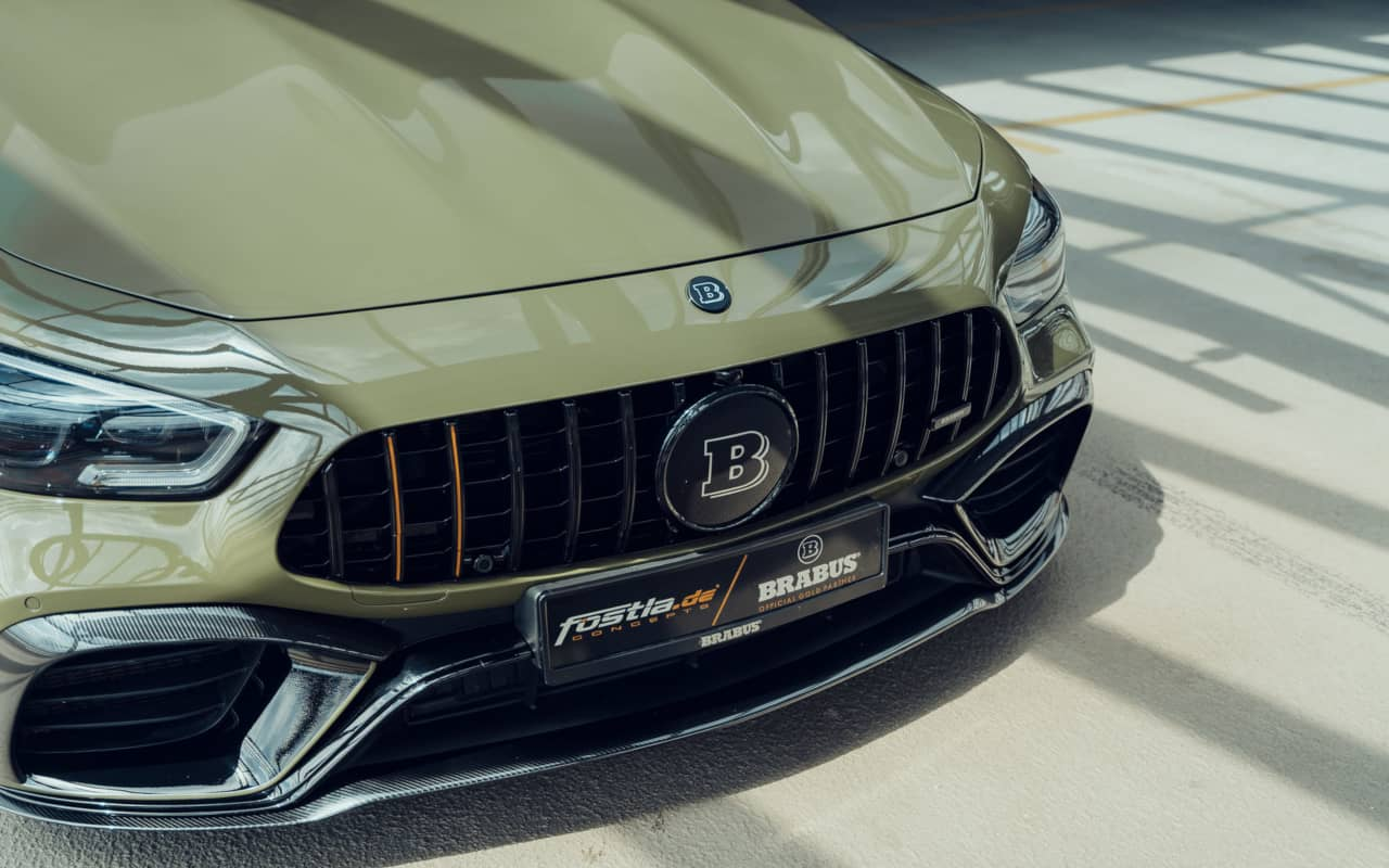 Brabus and Fostla AMG GT 63S 4door Coupe Nose