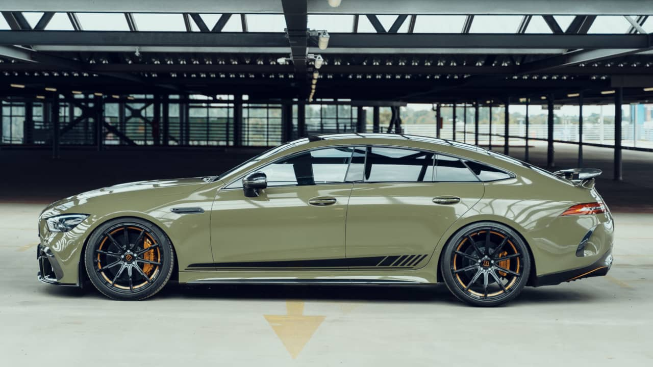 Brabus and Fostla AMG GT 63S 4door Coupe Side