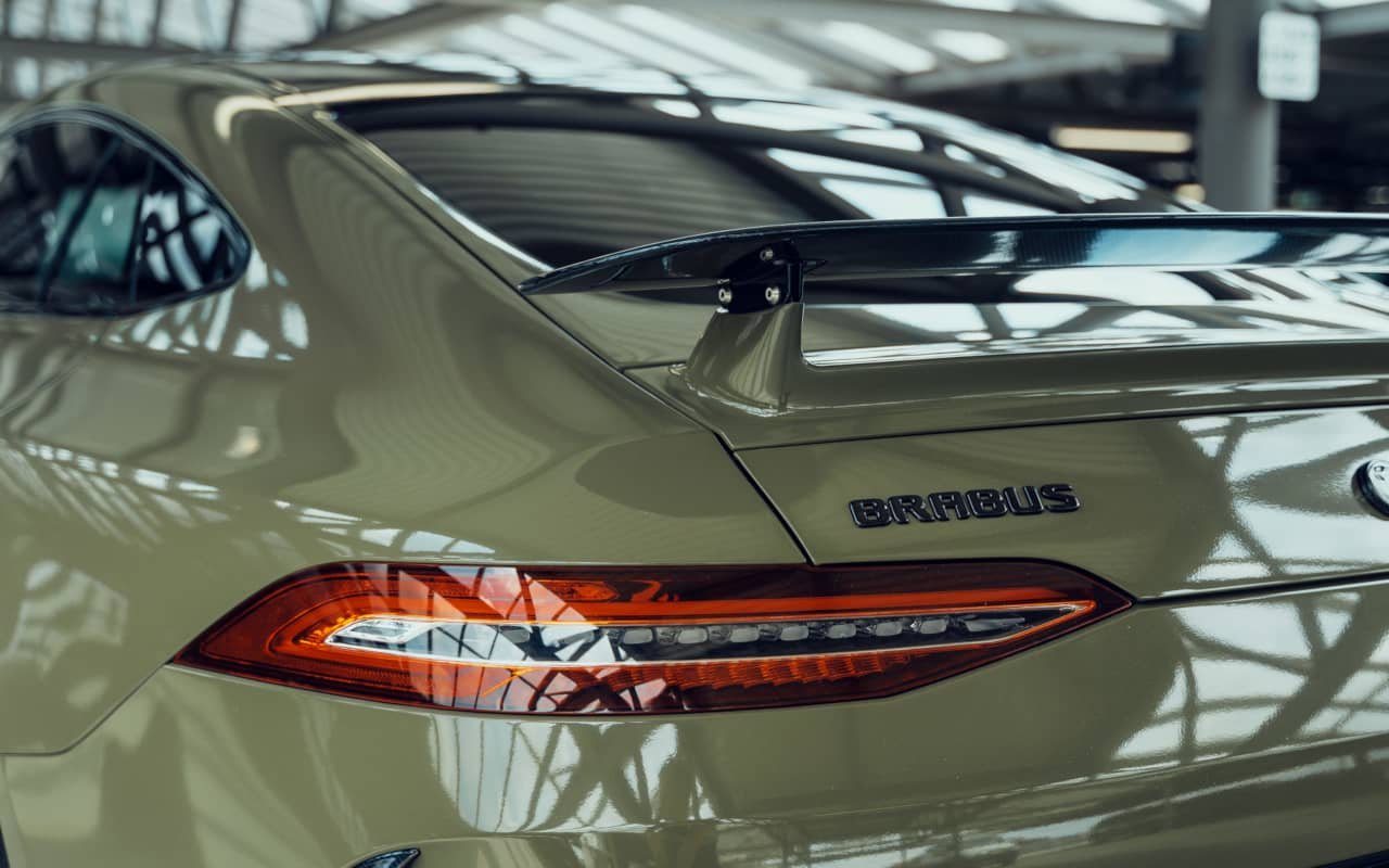 Brabus and Fostla AMG GT 63S 4door Coupe Rear wing