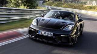 Porsche 718 Cayman GT4 RS Nurburgring Time Attack