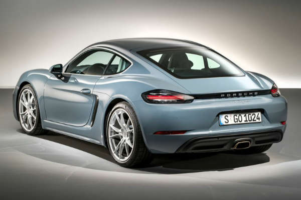 Porsche_718 Cayman_rear