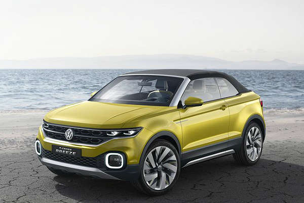 VW_T-Cross Breeze Concept_front